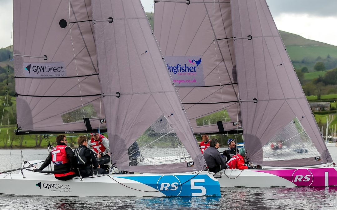 Local team bring it home after a day of super tight racing