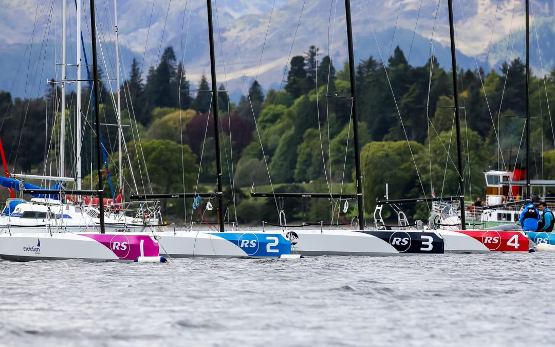 Warm up day as the British Keelboat League arrives in Ullswater