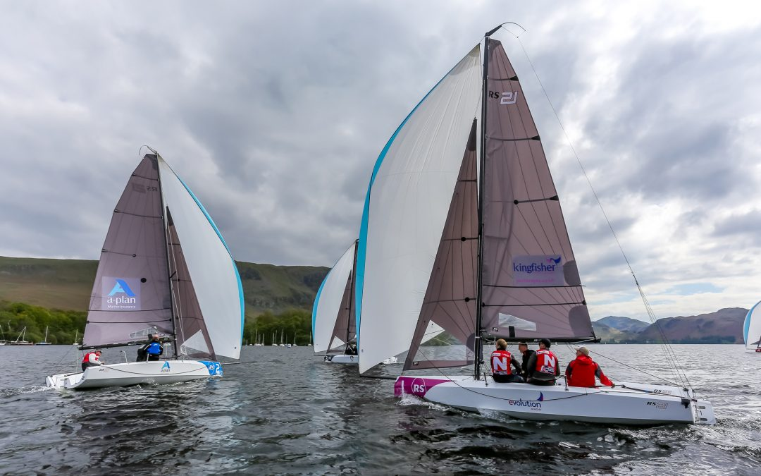 Teams #Rockupandrace for the First Edition of the British Keelboat League 2019
