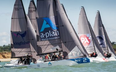 THE BRITISH KEELBOAT LEAGUE YOUTH QUALIFIER AT THE ROYAL SOUTHERN YACHT CLUB DELIVERED EPIC CONDITIONS, WITH THE ROYAL SOUTHERN YACHT CLUB TEAM, CLOSELY FOLLOWED BY THE UNIVERSITY OF BRISTOL TEAM EARNING THEIR PLACES IN THE FINAL