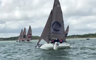 BKL Royal Lymington Day 1 – Breeze-on in the Solent