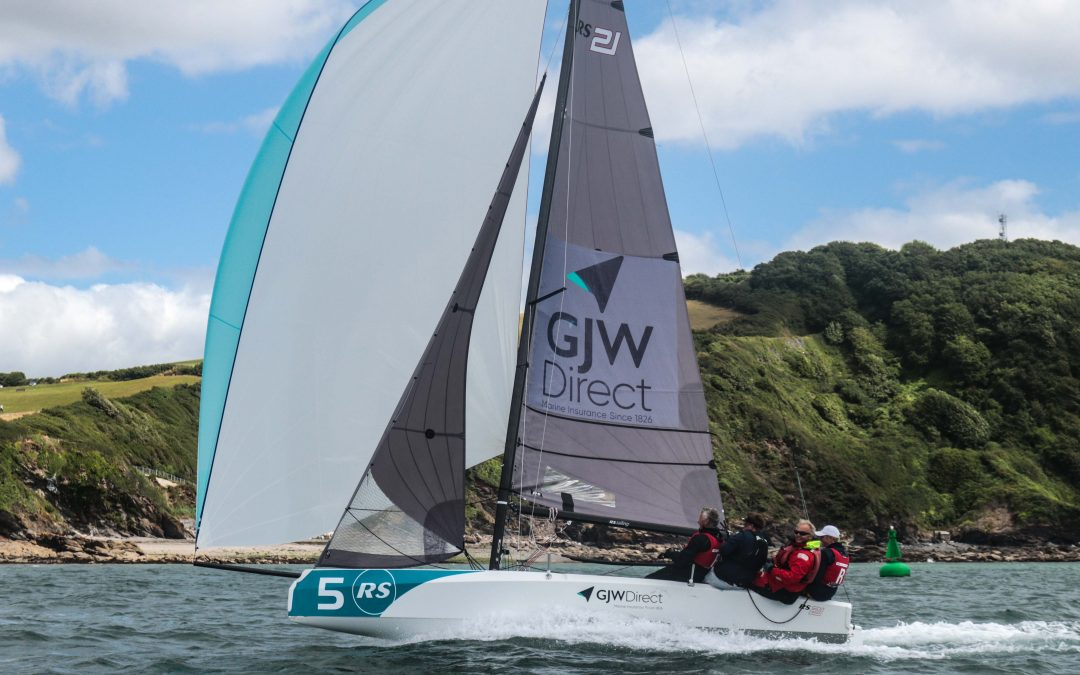 British Keelboat Academy youngsters display a relentless attitude on day 2 to qualify for the British Keelboat League Finals