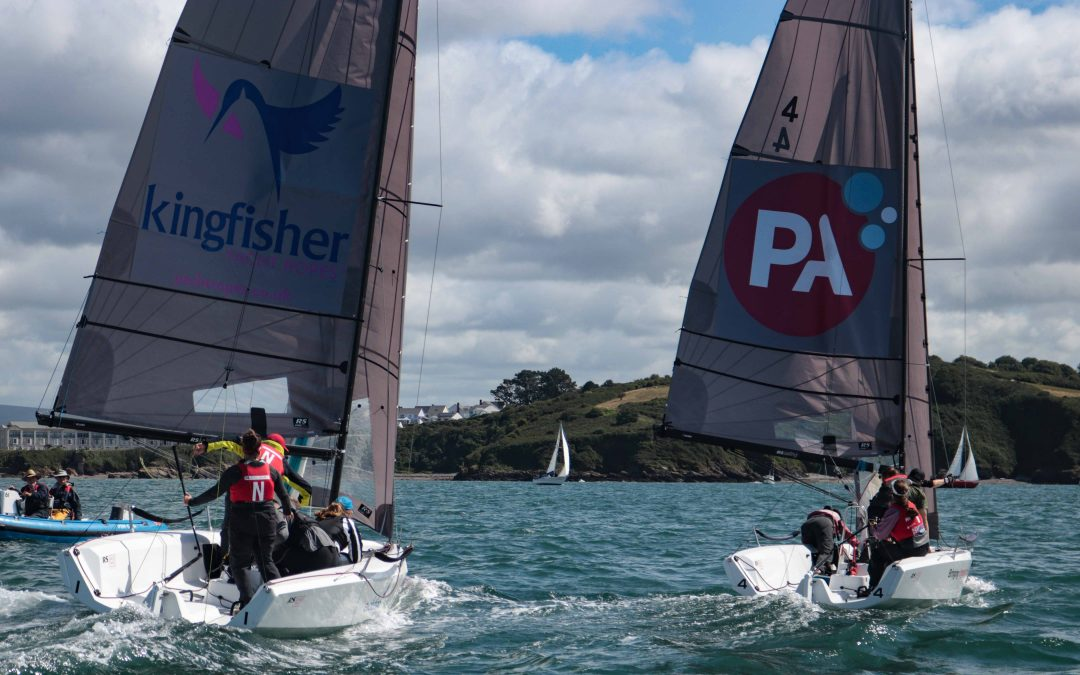Tight racing, planing RS21s and sunshine – Plymouth delivers for the first day of the Royal Western Yacht Club Qualifier