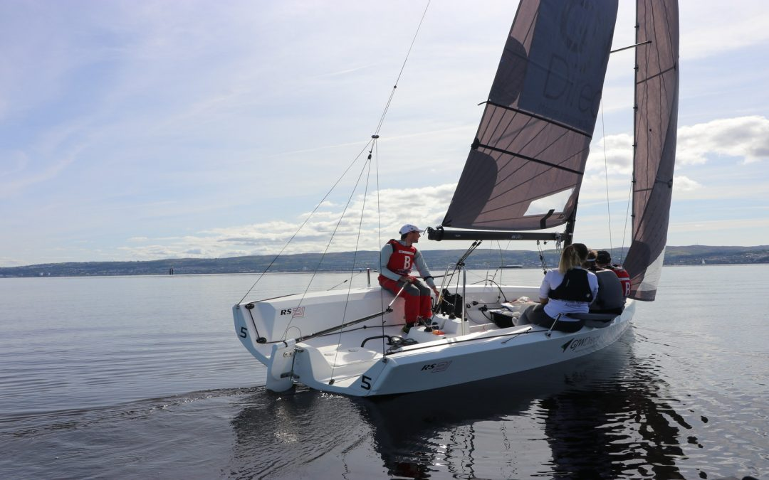 The British Keelboat League Northern Qualifier at the Royal Northern and Clyde Yacht Club was led by the northerners!